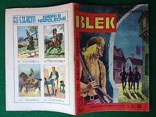 Gli albi del grande BLEK n 204 , Dardo (1967) + figurine GLI ESERCITI NAPOLEONE
