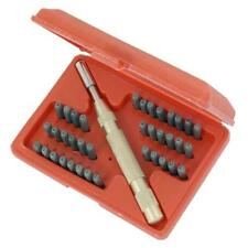 Neilsen Letter & Number Punch Set Stamp Alpha-Numeric Automatic Punch Metal 1497