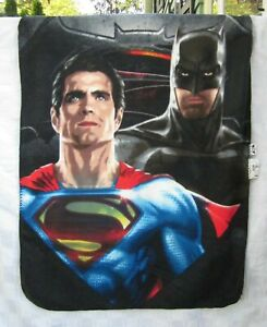 "BATMAN V SUPERMAN NORTHWEST POLYESTER FLEECE THROW 48""x38"" by Northwest Co. 2015"