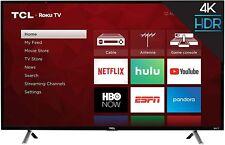 "Tcl 49S405 - 49""4K Ultra Hd Hdr Roku Smart Led Tv w/ 3 Hdmi"