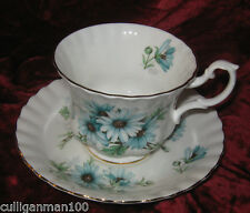 1 - Royal Albert Marguerite Tea cup and Saucer (2017-214)