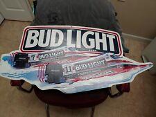 Bud Light Bill Seebold Racing Sign