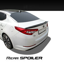 New Rear Trunk Wing Lip Spoiler Painted Black for Kia Optima 2011 2015 K5 USA