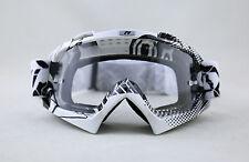 NENKI MX Goggle NK-1019 Starflash Black Clear Lens Off Road Motocross Goggles