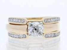 Wert: 3.400,- EUR zweiteiliger Ring 1,27 Karat Diamant Brillanten 585 Gold