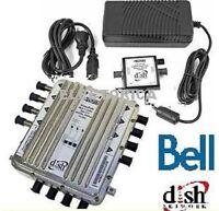 DPP44  BELL EXPRESS VU MULTI SWITCH DP LNB SATELLITE Dish Network  DPP-44 HD 4X4