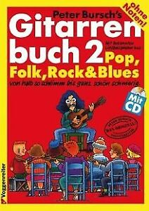 Gitarrenbuch, m. CD-Audio, Bd.2, Mit bekannten Liedbeisp... | Buch | Zustand gut