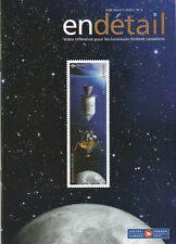 MAGAZINE STAMP & COLLECTIBLE POST CANADA - JUNE-JULY 2019 NO 6 WITH APOLLO 11