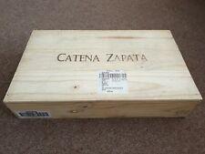 Wooden Wine Box Crate Catena Zapata