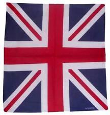 Union Jack UK British Flag Fency Dress Neck Tie Bandana 100% Cotton Top Quality
