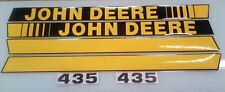 John Deere 435 Baler Decals