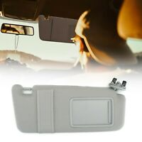 Right Passenger Side Sun Visor With Sunroof Gray for Toyota Camry 2007-2011 T5