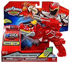 Power Rangers Super Dino Charge-T-Rex Super Charge morpher-Neuf