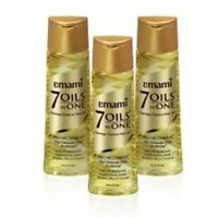 Emami 7-in-1 OIL Almond Argan Jojoba Amla Walnut Olive Coconut FOR HAIR LOSS
