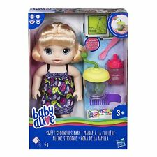 Baby Alive E0586ES0 Girl Sweet Spoonfuls Blonde Doll