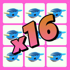 Roblox Adopt Me - Narwhal Bundle x16 - Ocean Egg - Make your own Neon Mega!