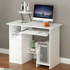 Home Office Computer Desk Modern Study Writing Desk Small Spaces PC Laptop Table