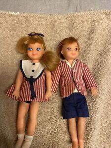 """1966 TUTTI & TODD IN SUNDAE TREAT"""" Barbie Set ! Original Clothes ❤️"""