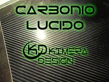 PELLICOLA CARBONIO 4D LUCIDO 100x30cm  - SPETTACOLARE !!!