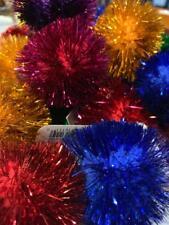 Cat Toy 10 Pack - Glitter Pom-Pom Ball Cat Toy 10 Pack