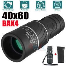 Day/Night Vision 40x60 Zoom HD Monocular Starscope Telescope BAK4 FMC Optics