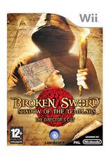Broken Sword Shadow of the Templars Directors Cut Nintendo WII Video Game