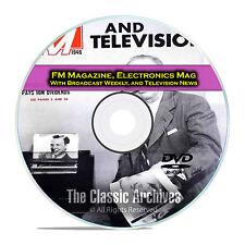 Broadcast Weekly, Electronics Magazine 504 Old Time Radio Magazines PDF DVD E57
