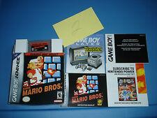 Super Mario Bros. Classic NES Series (Nintendo Game Boy Advance, 2004) (PRE 2