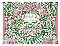 William Morris Michaelmas Daisy Writing Set - A5 Paper and White Envelopes