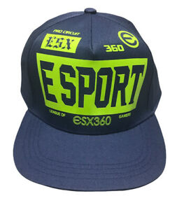 ESX360 Esports Gaming Gear Pro Wear Gamer Hat Cap Youth One Size Adjustable