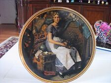 "Norman Rockwell collectors plate ""Dreaming in the Attic"""