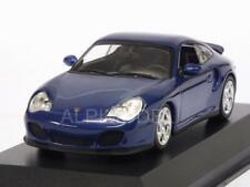 Porsche 911 Turbo 996 1999 Blue Metallic 'Maxichamps' 1:43 MINICHAMPS 940069301