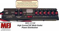 MFJ-1118 - High Current Deluxe Multiple DC Power outlet, Handles 35 Amps Total