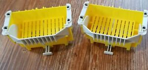 Rokenbok Parts - 2 Recycle Bumper Bins Hoppers for Rocks -  Building Toy STEM
