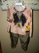 Disney Store Lone Ranger Tonto Indian Costume Boys Size 4