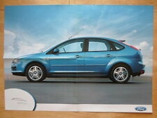 FORD FOCUS GHIA 2005 UK Mkt factory wall poster - brochure related