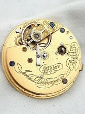 Irish / Dublin Fusee Pocket Watch Movement. *FULL WORKING ORDER* *1800s*