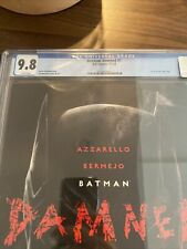 Batman Damned #1 CGC 9.8 NM Regular Lee Bermejo Cover! Uncensored copy!