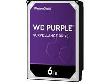 """WD Purple 6 TB HDD 5400 RPM SATA 3.5"""" Surveillance Internal Hard Drive WD60PURZ"""