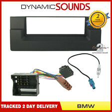 Car CD Stereo Radio Fascia Wiring ISO Aerial Fitting Kit For BMW 5 Series E39 X5