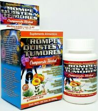 Rompe Quistes y Tumores Ajo Omega 3, 6, 9 Cysts B17 100% Natural Cancerina Tabs