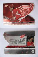 2001-02 Atomic BS Shanahan Brendan  SAMPLE RARE HOT wings