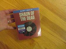 SHAUN OF THE DEAD  BLU-RAY + DIGITAL HD  rare STEELBOOK LIMITED EDITION NEW