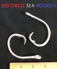 500 Eagle Claw 17/0 Heavy-Wire Seaguard Circle Sea Hooks (190M-17/0) EB130102