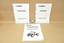 1994 & 2005-2006 Yamaha Wolverine Grizzly YFM35 Pre Delivery Assembly Manual Lot