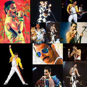 Queen Freddie Full Drill 5D Diamond Painting Embroidery Cross Craft Arts Mural