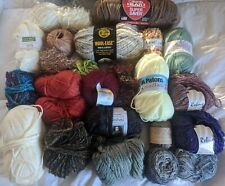 New ListingLot of Mixed Yarn Red Heart, Spa, Rebus, Patons, Nature Spun, Halo