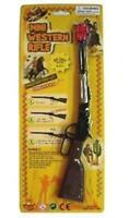 DIE CAST METAL  COWBOY WESTERN RIFLE CAP GUN