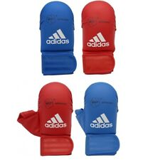 Adidas WKF Karate Mitts Adult Sparring Gloves Competition No Thumb With Thumb
