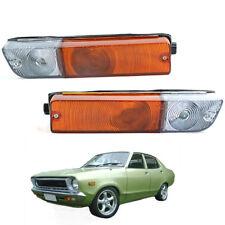 Fit 75-80 Nissan Datsun 1200 B110 B210 120Y Front Bumper Turn Signal Light